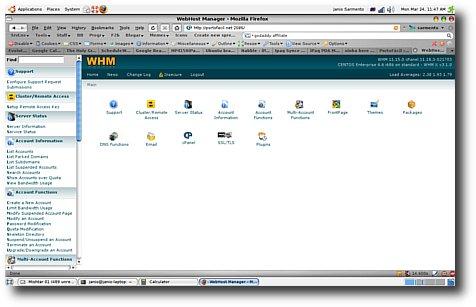 Web Host Manager WHM PortoFácil